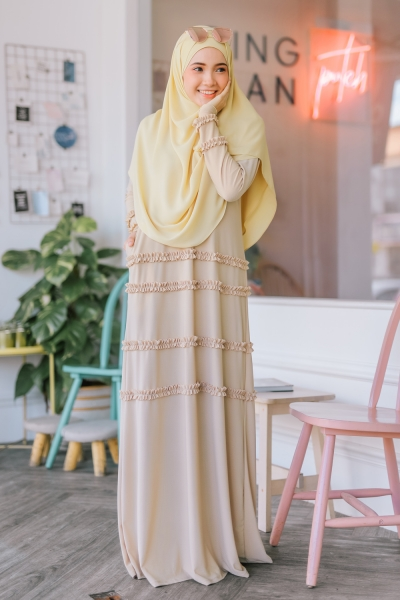 AARA JUBAH - MOCCASIN YELLOW